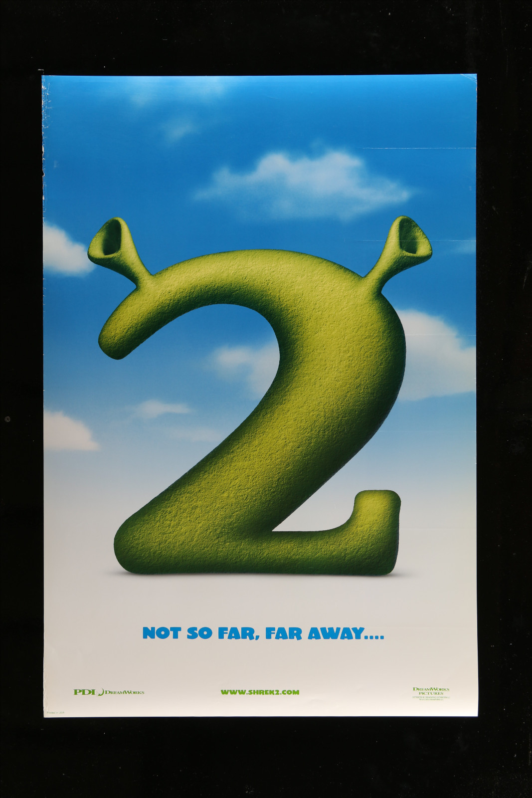 Shrek 2 2A360 A Part Of A Lot 30 Unfolded Mostly Double-Sided Mostly 27X40 One-Sheets '70S-00S Cool!