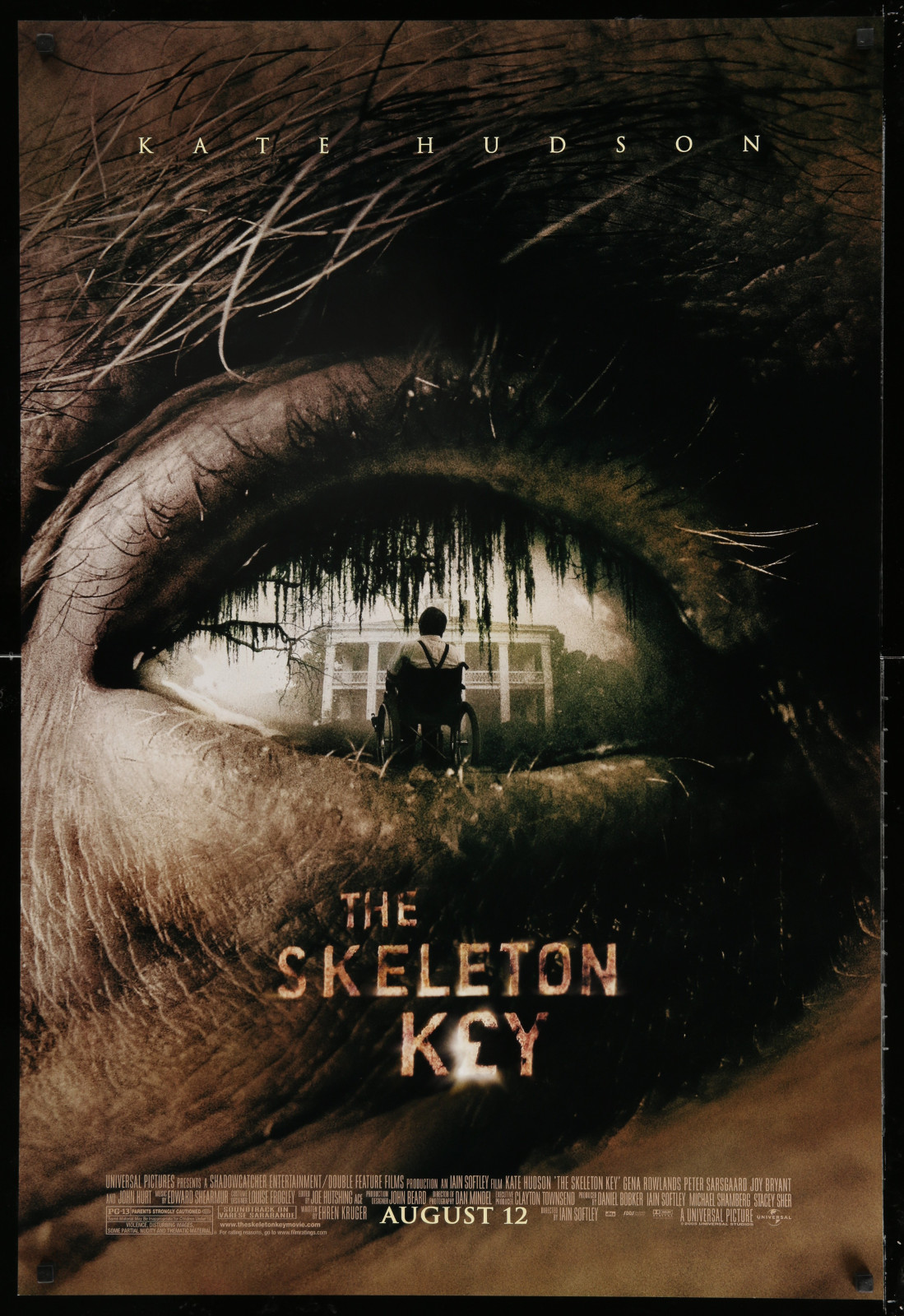 The Skeleton Key 2A471 A Part Of A Lot 15 Unfolded Double-Sided 27X40 Mostly Family One-Sheets '00S Great Movie Images!