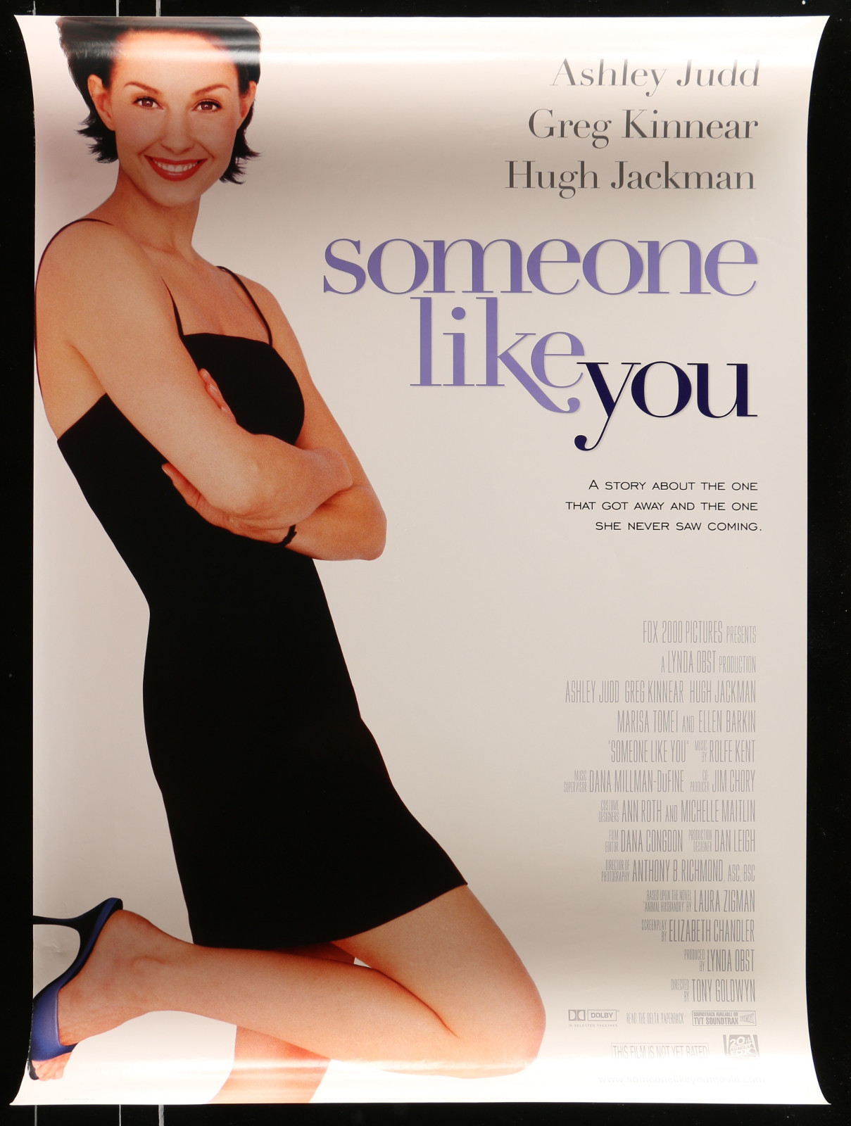 Someone Like You 2A413 A Part Of A Lot 20 Unfolded Mostly Double-Sided 27X40 One-Sheets '90S-00S Great Movie Images!
