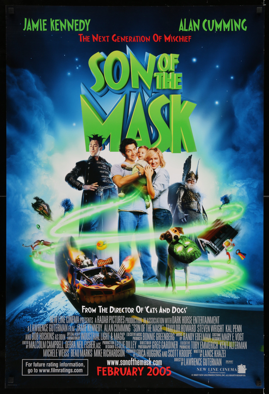 Son Of The Mask 2A353 A Part Of A Lot 32 Unfolded Double-Sided And Single-Sided Mostly 27X40 One-Sheets '90S-00S Great Images