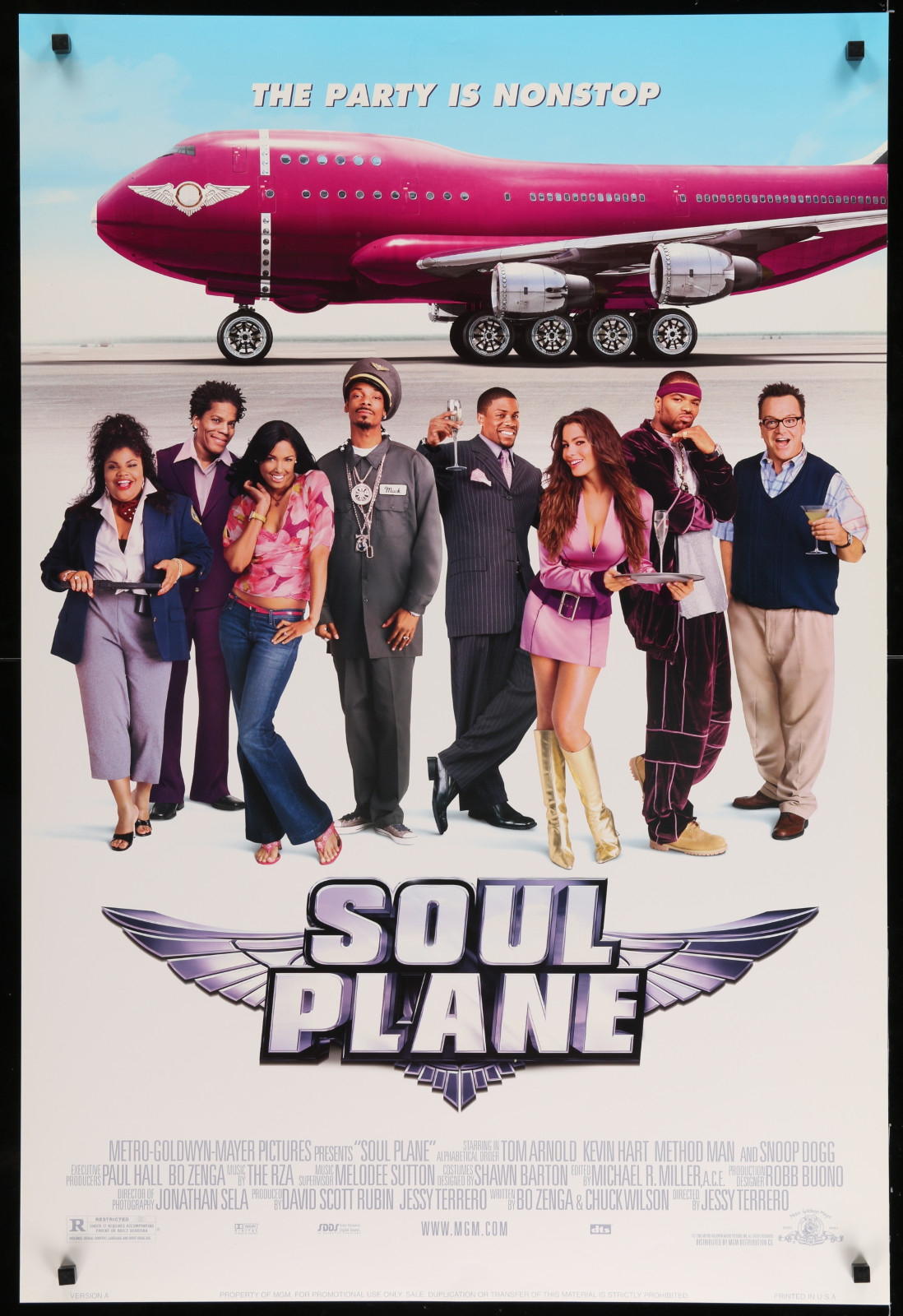 Soul Plane 2A366 A Part Of A Lot 29 Unfolded Double-Sided 27X40 One-Sheets '90S-00S Great Movie Images!