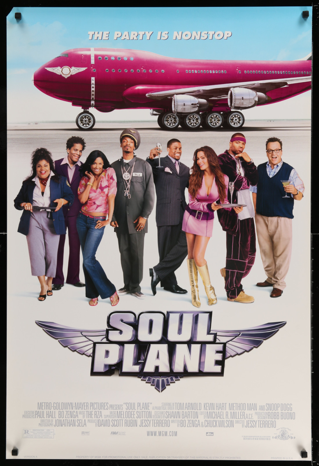 Soul Plane 2A438 A Part Of A Lot 18 Unfolded Double-Sided 27X40 Mostly Comedy One-Sheets '90S-00S Great Movie Images!