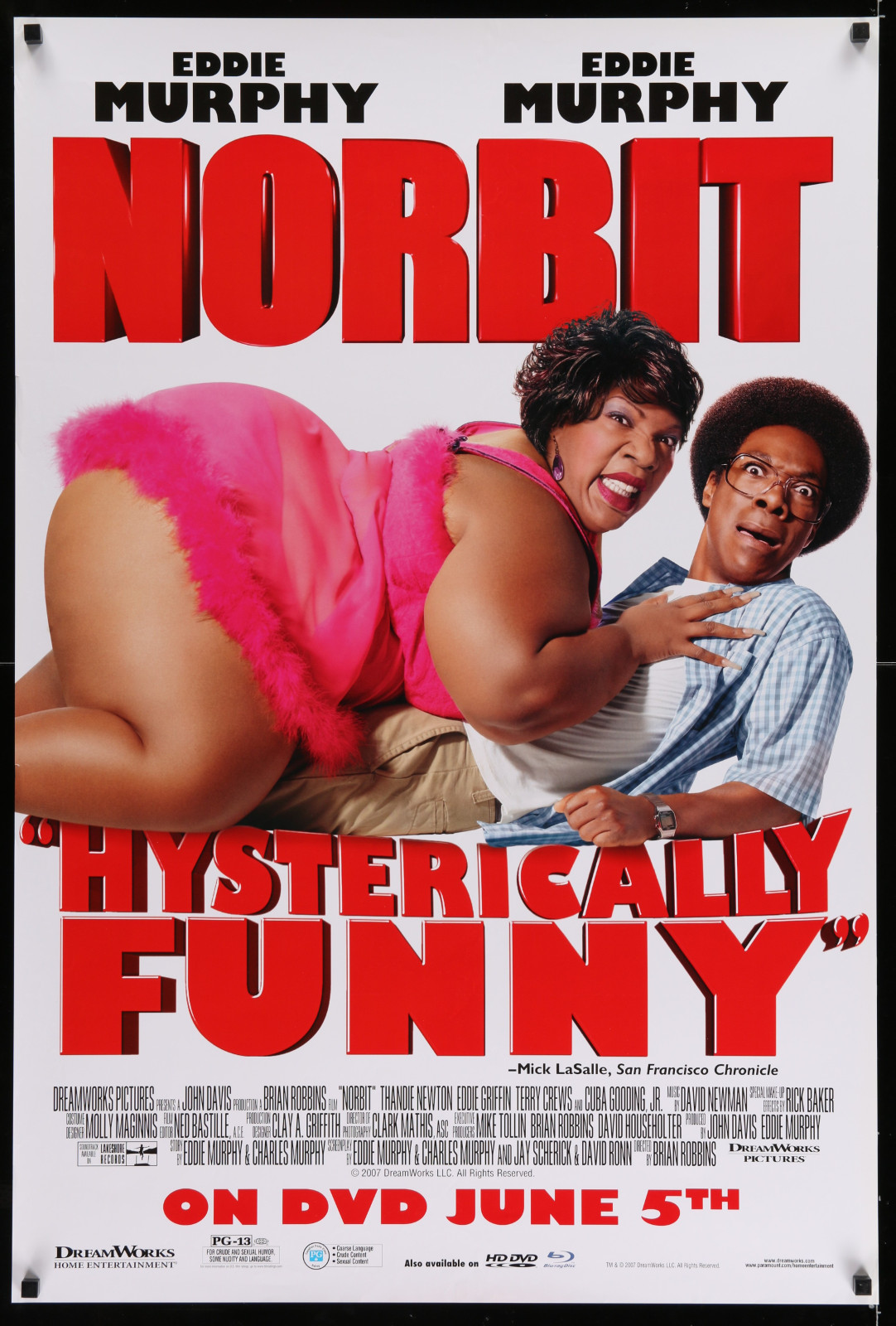 Norbit 2A327 A Part Of A Lot 10 Unfolded Video And Special Posters '80S-00S Many Great Movie Images!