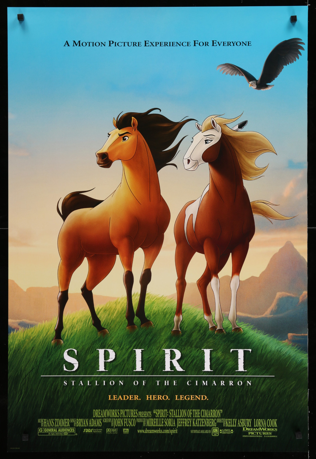 Spirit 2A366 A Part Of A Lot 29 Unfolded Double-Sided 27X40 One-Sheets '90S-00S Great Movie Images!