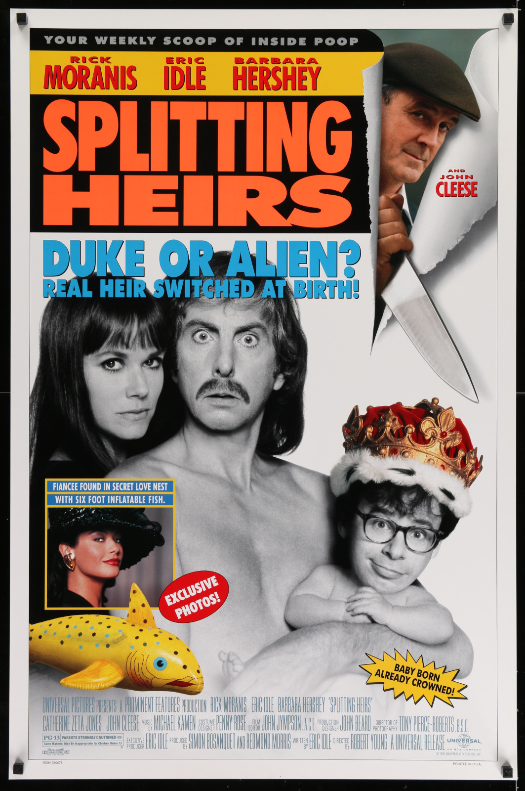 Splitting Heirs 2A446 A Part Of A Lot 17 Unfolded Mostly Double-Sided 27X40 One-Sheets '90S-00S Great Movie Images!