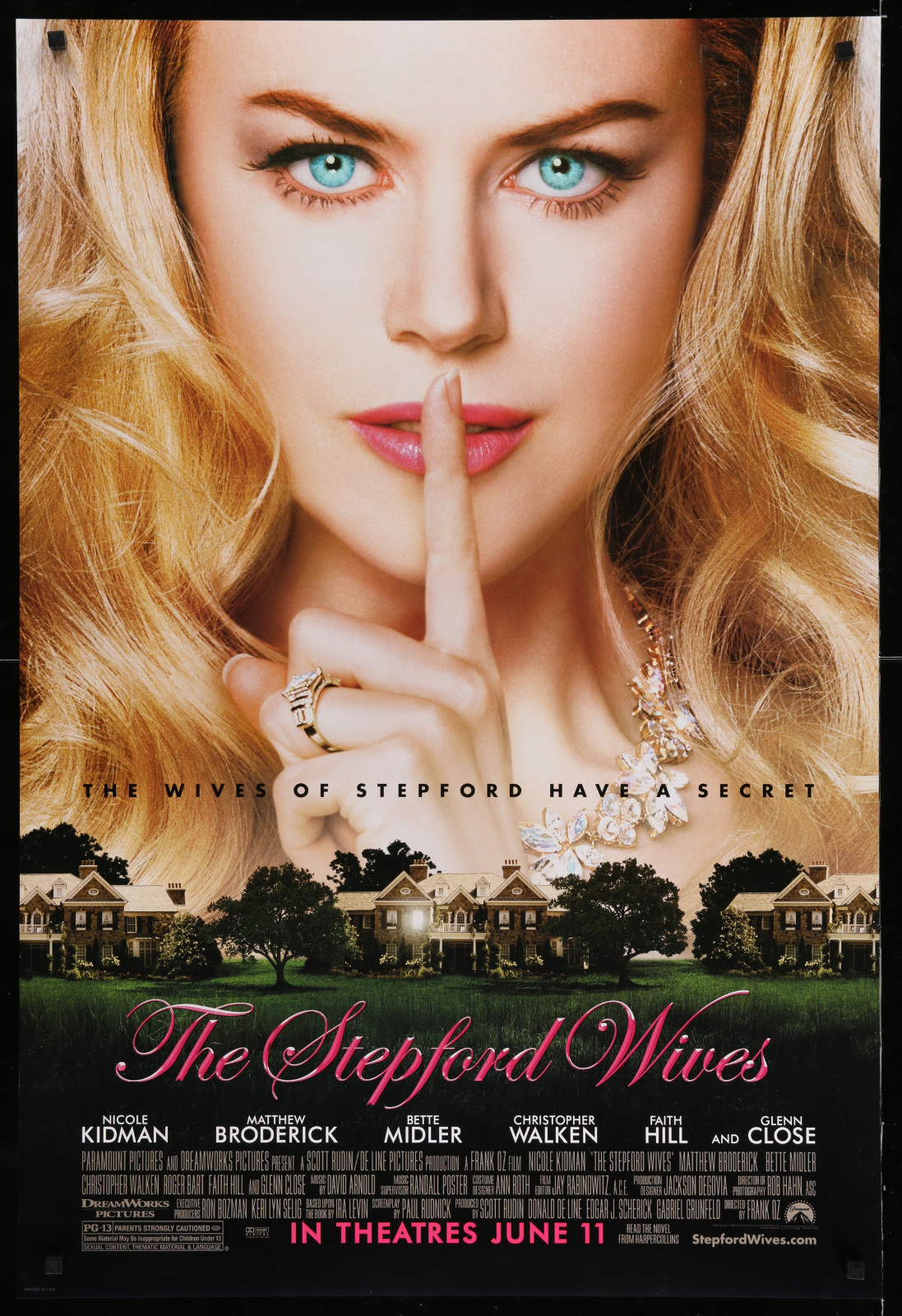 The Stepford Wives 2A366 A Part Of A Lot 29 Unfolded Double-Sided 27X40 One-Sheets '90S-00S Great Movie Images!