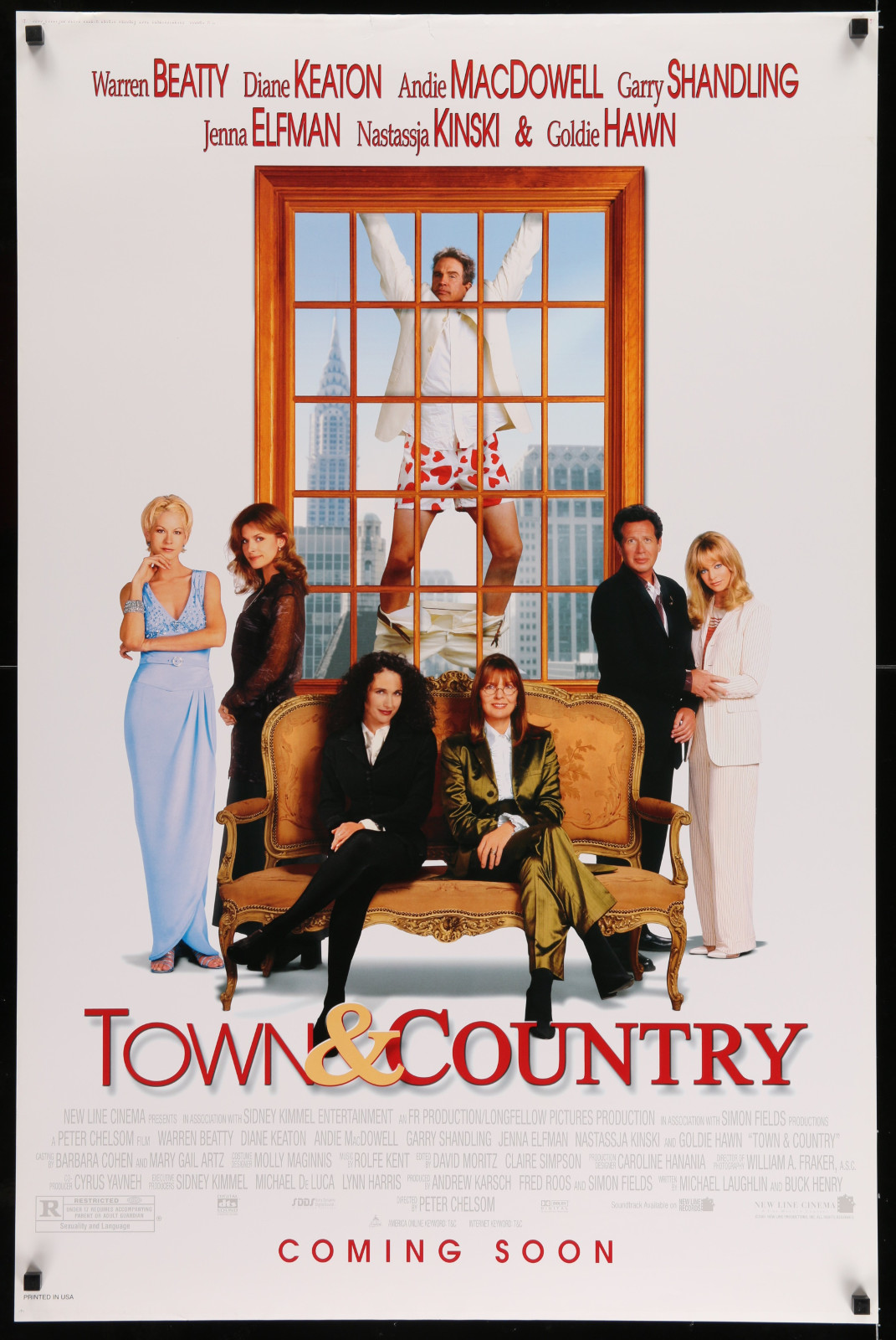Town & Country 2A422 A Part Of A Lot 19 Unfolded Mostly Double-Sided 27X41 One-Sheets '90S-00S Great Movie Images!