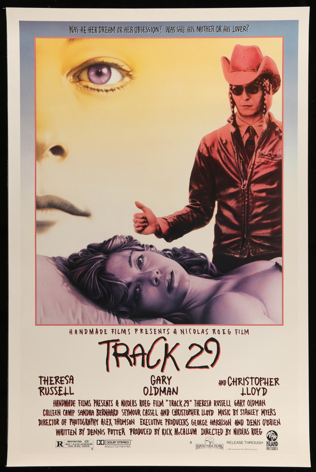 Track 29 2A457 A Part Of A Lot 16 Unfolded Mostly Single-Sided Mostly 27X41 One-Sheets '80S-90S Great Movie Images!