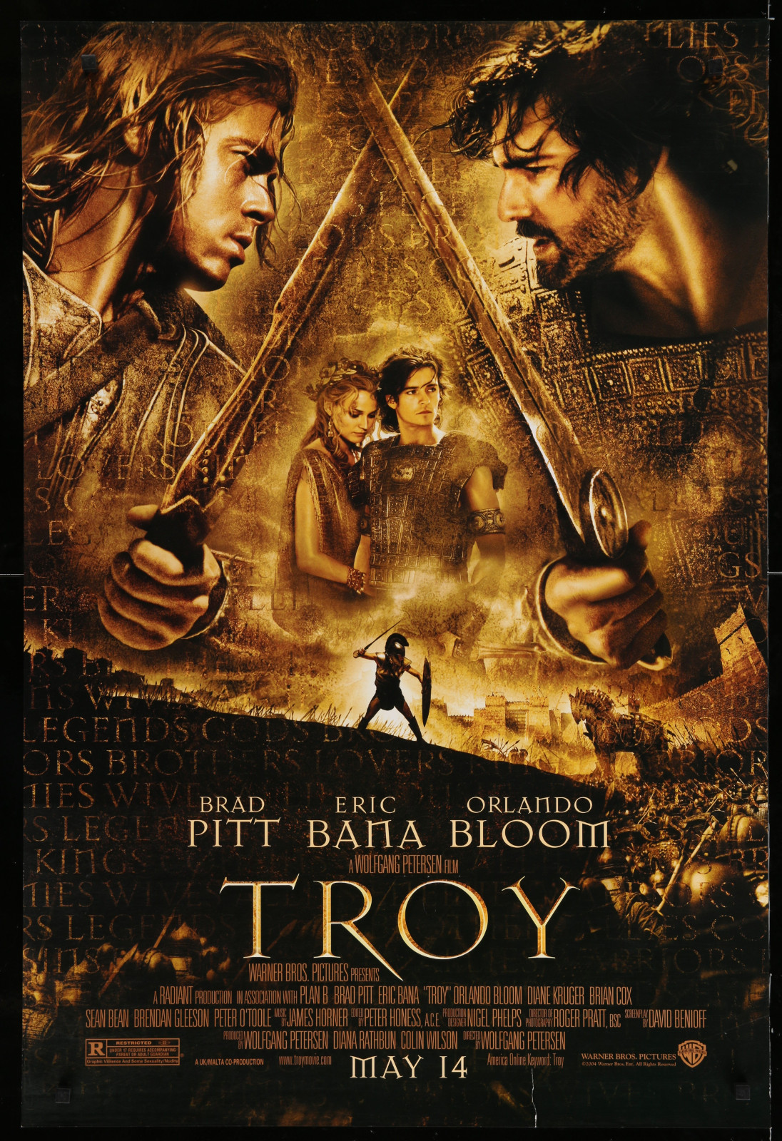 Troy 2A366 A Part Of A Lot 29 Unfolded Double-Sided 27X40 One-Sheets '90S-00S Great Movie Images!