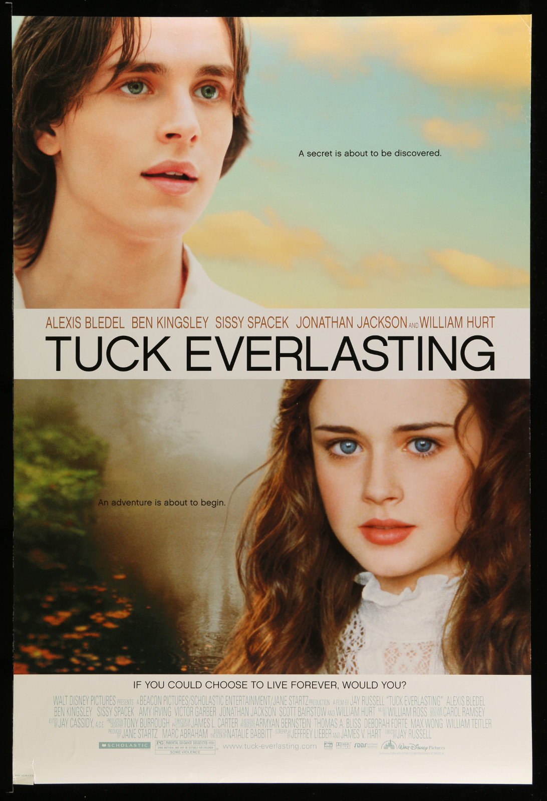 Tuck Everlasting 2A396 A Part Of A Lot 22 Unfolded Mostly Double-Sided 27X40 One-Sheets '00S A Variety Of Movie Images!