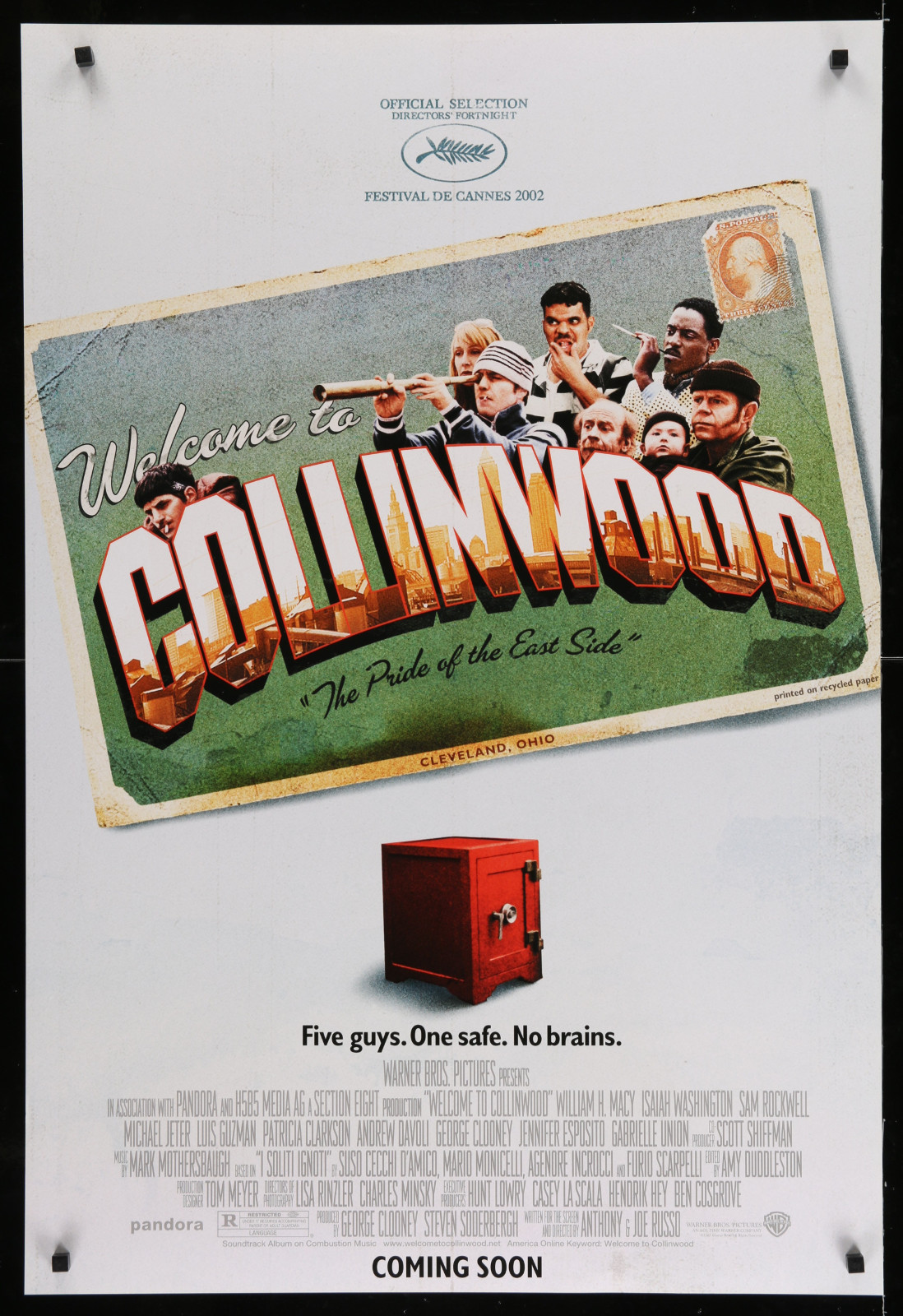 Welcome To Collinwood 2A393 A Part Of A Lot 23 Unfolded Mostly Double-Sided 27X40 One-Sheets '90S Great Movie Images!