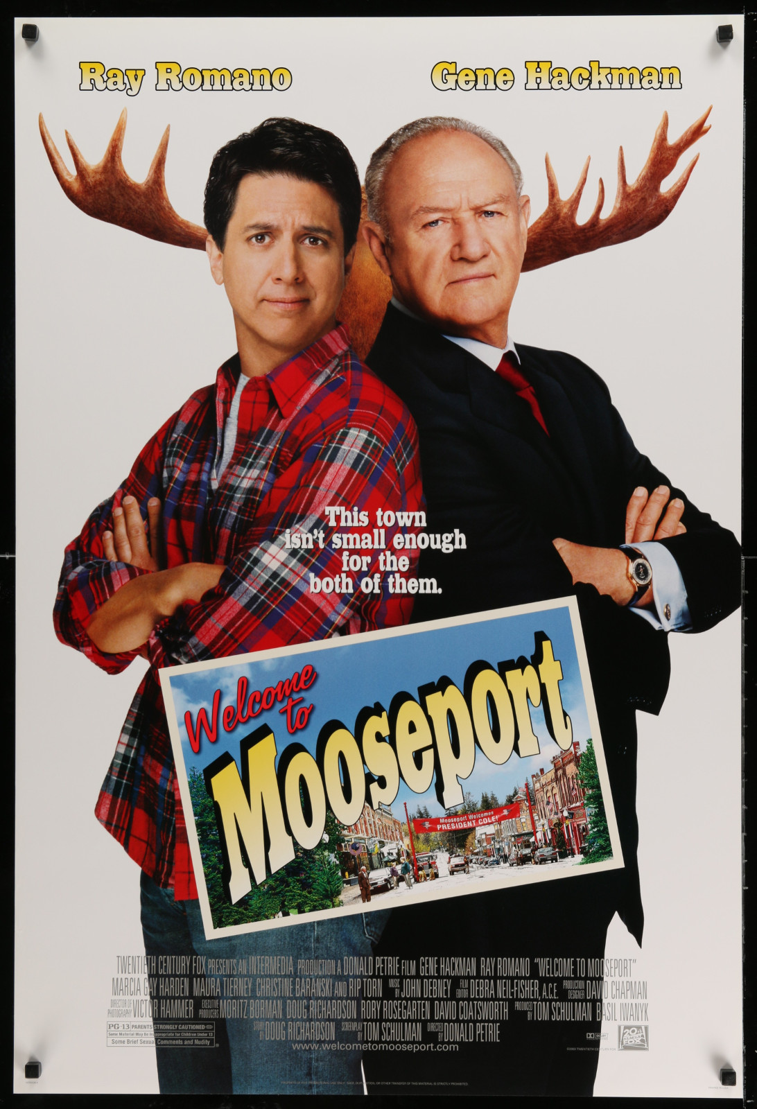 Welcome To Mooseport 2A391 A Part Of A Lot 24 Unfolded Double-Sided 27X40 One-Sheets '90S-00S Great Movie Images!