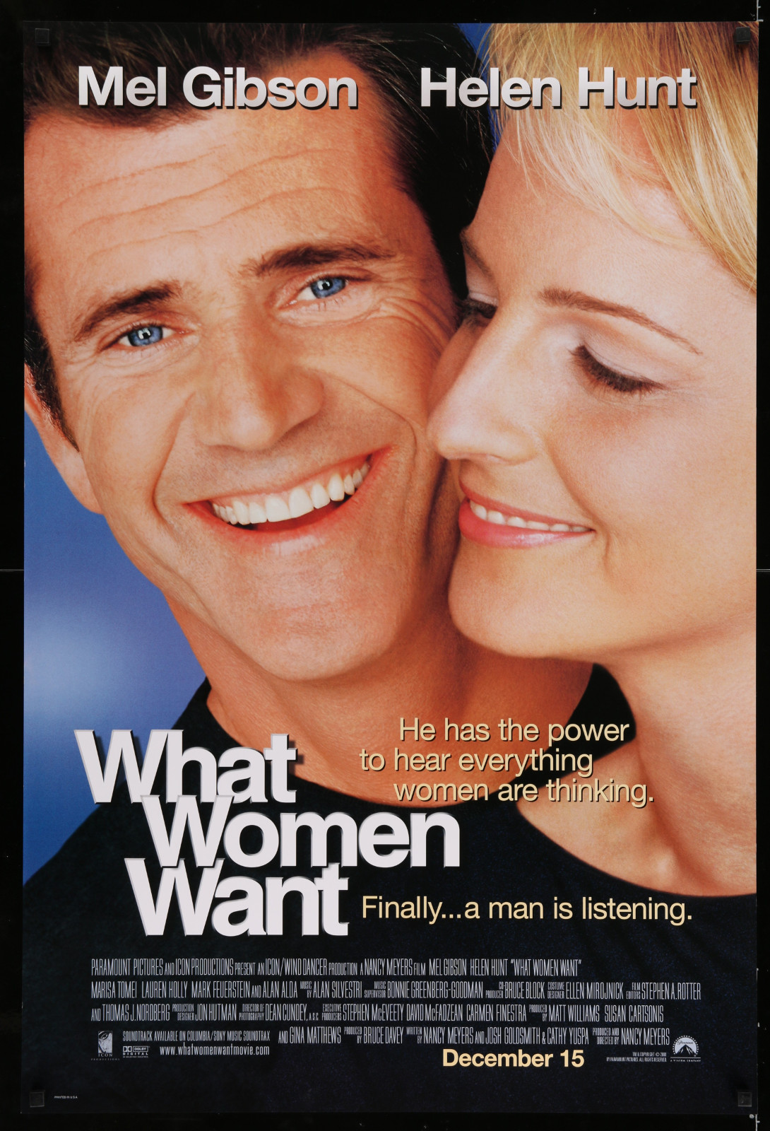 What Women Want 2A353 A Part Of A Lot 32 Unfolded Double-Sided And Single-Sided Mostly 27X40 One-Sheets '90S-00S Great Images