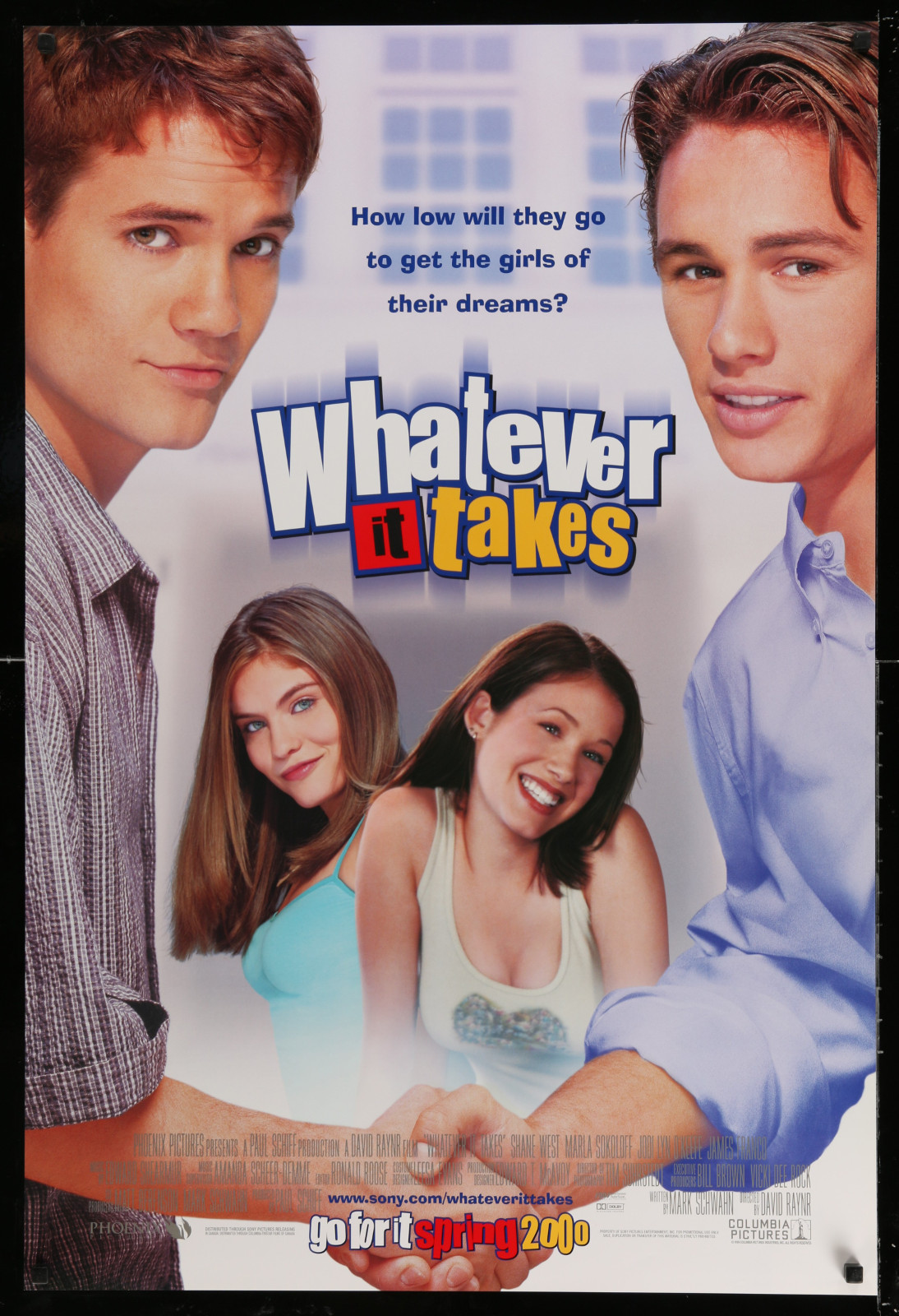 Whatever It Takes 2A391 A Part Of A Lot 24 Unfolded Double-Sided 27X40 One-Sheets '90S-00S Great Movie Images!