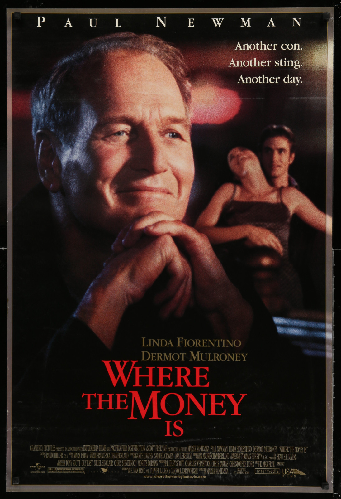 Where The Money Is 2A438 A Part Of A Lot 18 Unfolded Double-Sided 27X40 Mostly Comedy One-Sheets '90S-00S Great Movie Images!