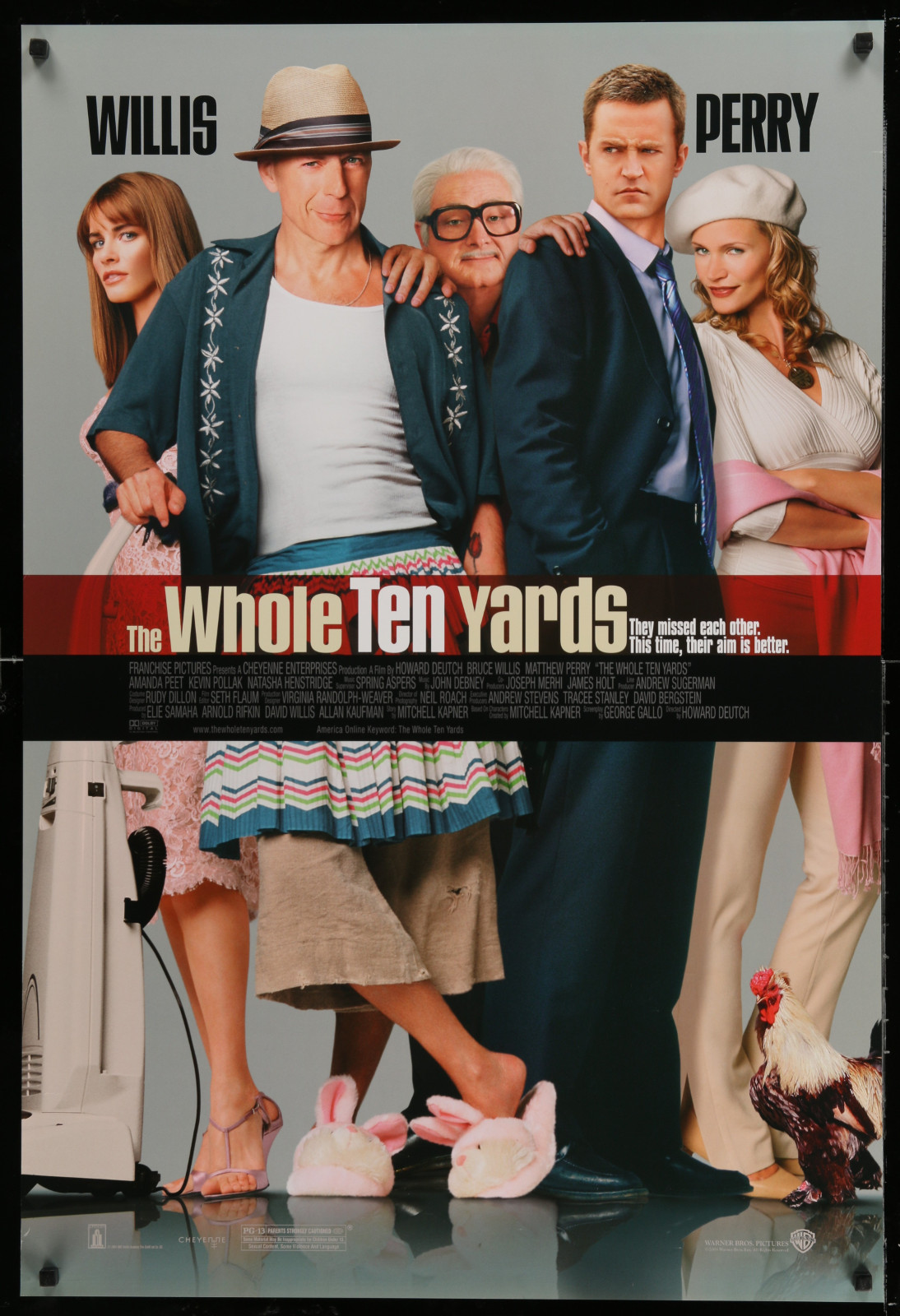 The Whole Ten Yards 2A391 A Part Of A Lot 24 Unfolded Double-Sided 27X40 One-Sheets '90S-00S Great Movie Images!